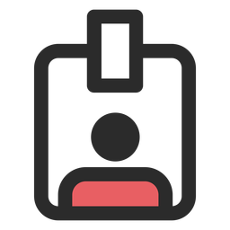 Access badge icon