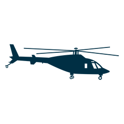Agusta helicopter silhouette