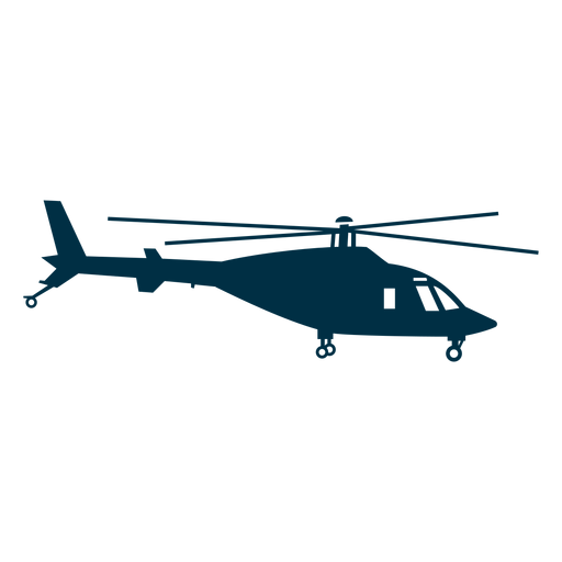 Agusta helicopter silhouette Transparent PNG