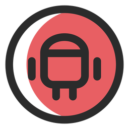 Android colored stroke icon