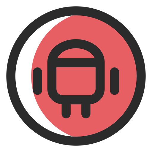 Icono de trazo de color Android Transparent PNG