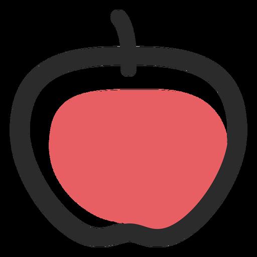 Ícones de esporte de ícone de traço colorido Apple Transparent PNG