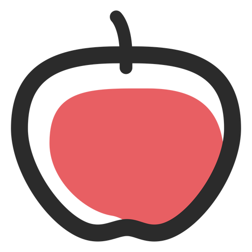 Apple colored stroke icon sport icons Transparent PNG
