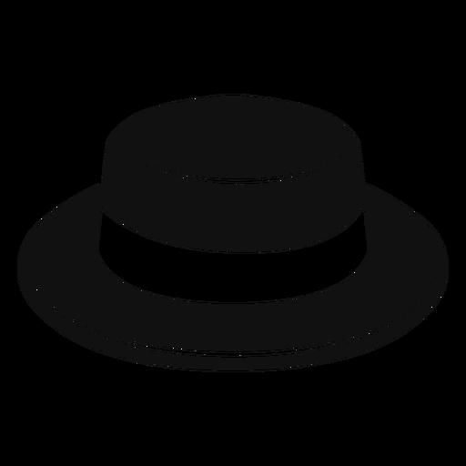 Icono plano de sombrero de navegante Transparent PNG