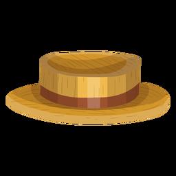 Bootsfahrer-Hut-Symbol