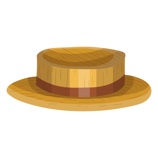 Boater hat icon Transparent PNG