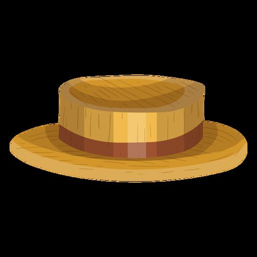 Icono de sombrero de navegante Transparent PNG