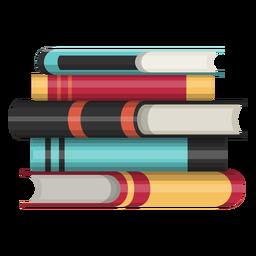 Ícone de pilha de livro