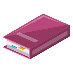 Buch mit Sticky-Symbol