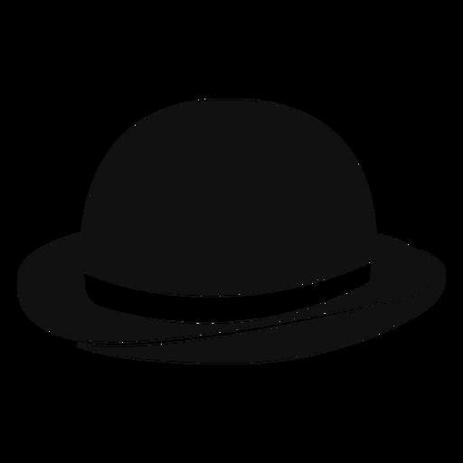 Bowler hat flat icon Transparent PNG