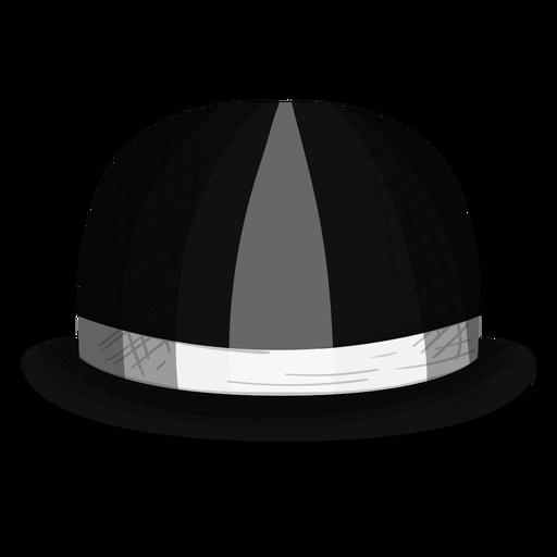 Bowler hat icon Transparent PNG