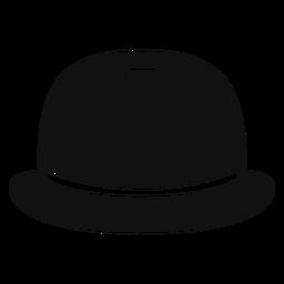 Icono de dibujo de sombrero de bombín