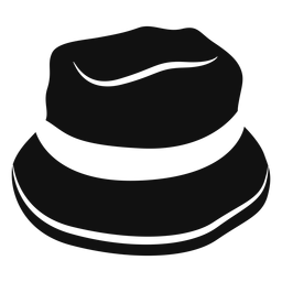 Bucket hat flat icon