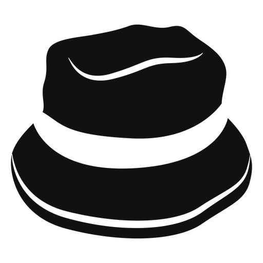 Bucket hat flat icon Transparent PNG