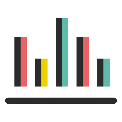 Business graph chart icon Transparent PNG