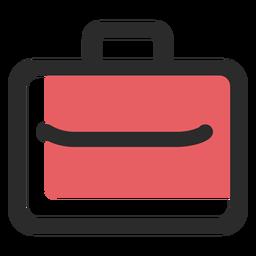 Icono de maleta de negocios