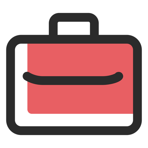 Business suitcase icon Transparent PNG