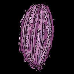 Ilustración de cacao de cacao