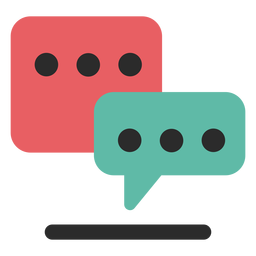 Chat-Kommunikationssymbol