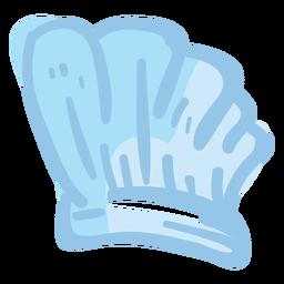 Ilustración de sombrero de chef toque