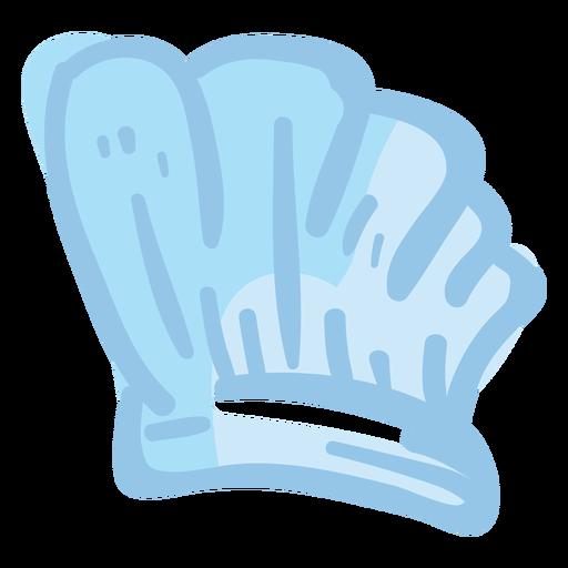 Chef toque hat illustration Transparent PNG