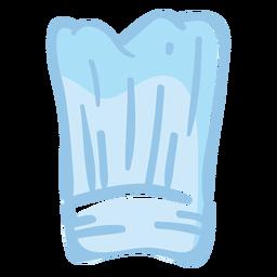 Ilustración de toque de chef