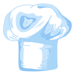 Dibujo de sombrero de chef