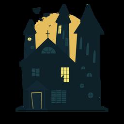 Casa embrujada de halloween escalofriante