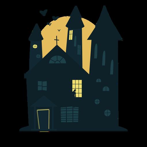 Casa embrujada de halloween escalofriante Transparent PNG