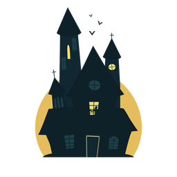 Casa de Halloween de refrigeração