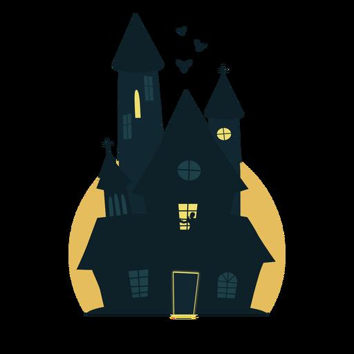 Casa escalofriante de halloween Transparent PNG