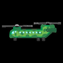 Chinook-Hubschrauber-Symbol