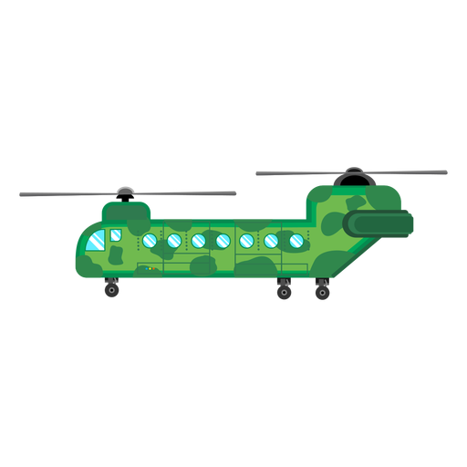 Chinook helicopter icon Transparent PNG