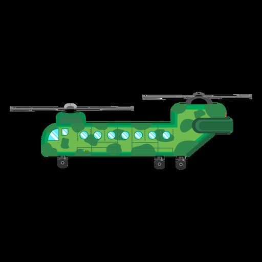 Icono de helicóptero Chinook Transparent PNG