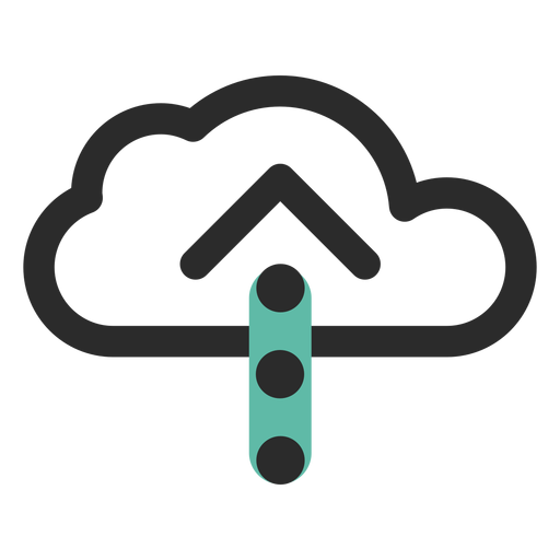 Cloud upload icon Transparent PNG