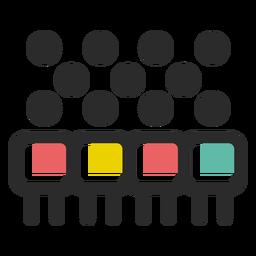 Ícone da equipe da empresa