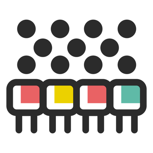 Company team icon Transparent PNG