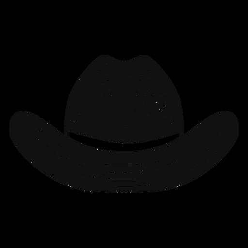 Cowboy hat sketch icon Transparent PNG