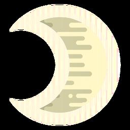 Icono de la luna creciente
