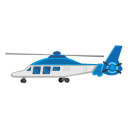 Delphin-Hubschrauber-Symbol