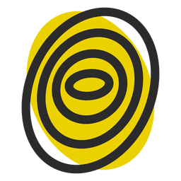 Fingerprint colored stroke icon