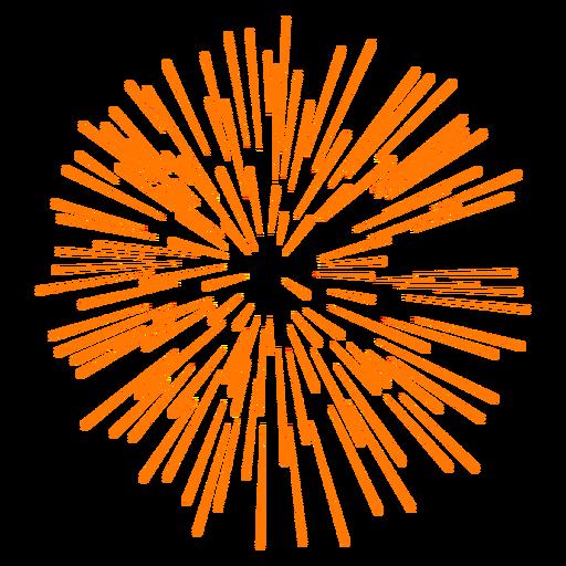 Icono de exhibición de fuegos artificiales