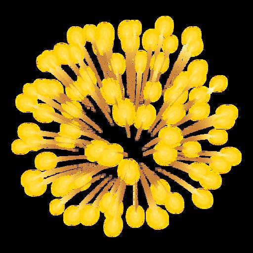 Ícone de explosão de fogos de artifício Transparent PNG