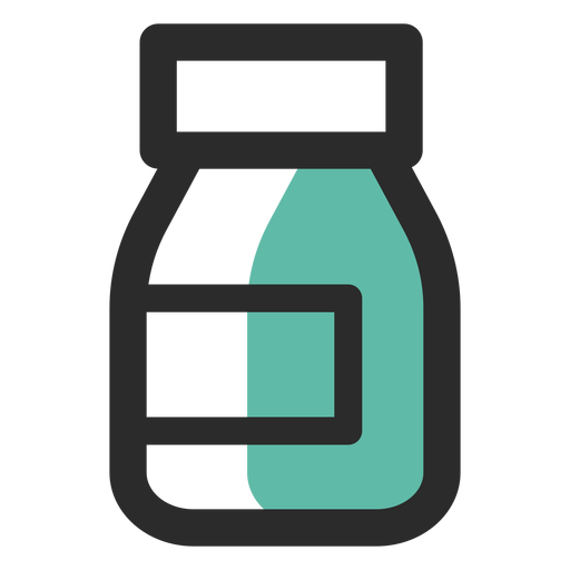 Complemento alimenticio coloreado icono Transparent PNG