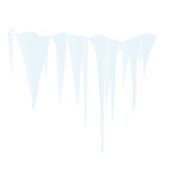 Frozen icicle icon