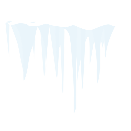 Frozen icicle icon Transparent PNG