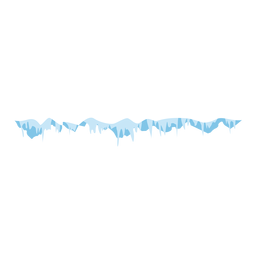Gefrorene Eiszapfen Kappe Symbol