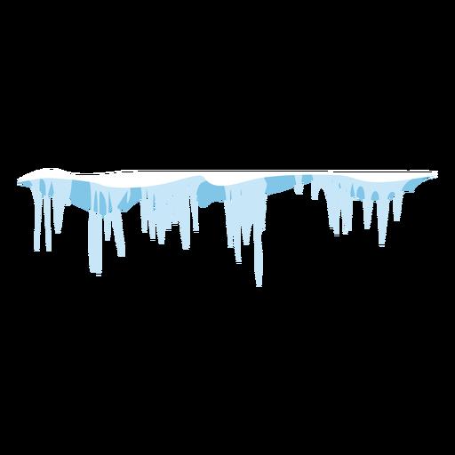 Ícone de gelo congelado Transparent PNG