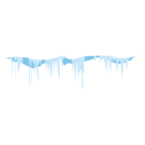 Frozen icicles icon Transparent PNG