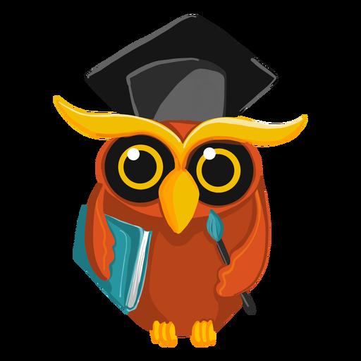 Livro de exploração de coruja de pós-graduação Transparent PNG